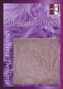 Kenny Kreations KKMFQ More Feathers Quilt Multiformat Embroidery Designs CD