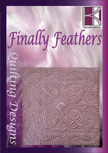 Kenny Kreations KKFFQ Finally Feathers Quilt Multiformat Embroidery Design CD