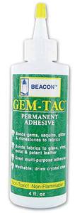 Beacon Gem-Tac  4 oz. Permanent Jewel Glue