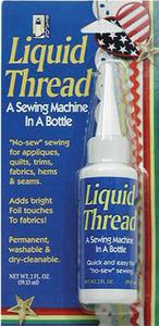 """43488: Beacon 7833B Liquid Thread 2oz. No Sew, Liquid Thread """"A Sewing Machine in a Bottle"""""""