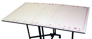 "Sullivans 38233 Rotary Cutter Gridded Mat 36x59"" for 12570 Cutting Edge Home Hobby Cutting Table"