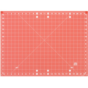 "Sullivans 39235 Add A Mat 18x24"" Joinable Cutting Mat, Double Sided, Self Healing"
