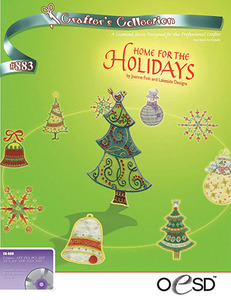 OESD Home for the Holidays Embroidery Design Pack on USB Stick