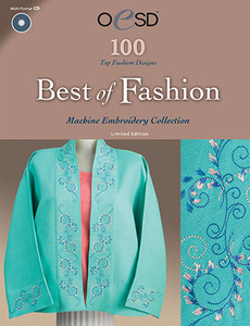 OESD Best Of Fashion CD Format Multiformatted Embroidery Design CD