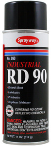 Sprayway Industrial SW090 RD 90 Penetrator Lubricating Spray 11 oz.
