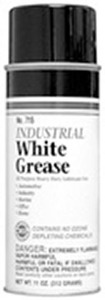 Sprayway SW715 Industrial White Grease Spray Lubricant 11 oz.