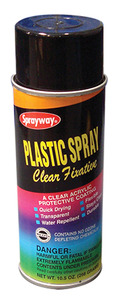 Sprayway SW201 Craft Plastic Spray Fixative 10.5 oz.