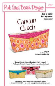 Pink Sand Beach Designs Cancun Clutch Pattern
