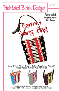 Pink Sand Beach Designs Carmel Swing Bag Pattern