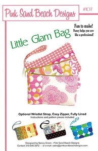 Pink Sand Beach Designs Little Glam Bag Pattern