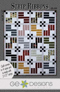 G.E. Designs Strip Ribbons Quilting Pattern