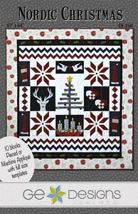 G.E. Designs Nordic Christmas Quilting Pattern