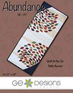 G.E. Designs Abundance Quilting Pattern