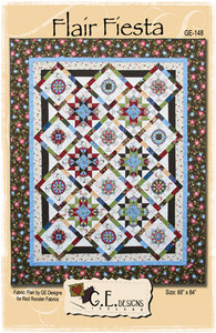 G.E. Designs Flair Fiesta Quilting Pattern