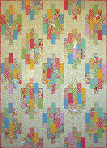 G.E. Designs Strip Stacks Quilting Pattern