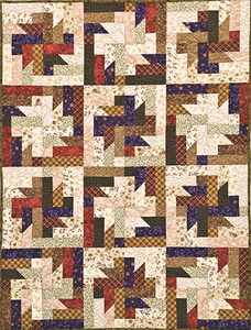 G.E. Designs Strip Joints Quilting Pattern