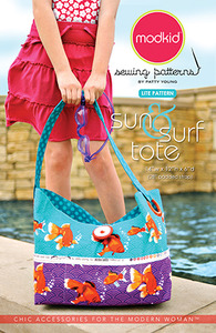 modkid Sun & Surf Tote Sewing Pattern