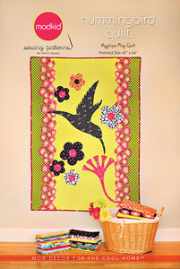 modkid Hummingbird Quilt Sewing Pattern