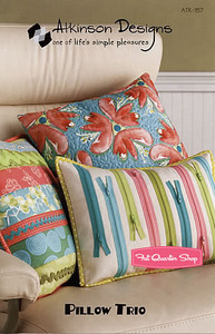 Atkinson Designs Pillow Trio Sewing Pattern