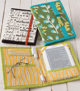 Atkinson Designs ATK156 E-Reader Wrap Sewing Pattern for Nook, Kindle
