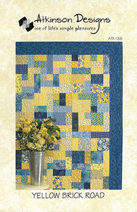 43744: Atkinson Designs 97-159 Yellow Brick Road Quilting Sewing Pattern