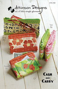 Atkinson Designs Cash and Carry Pattern Sewing Pattern