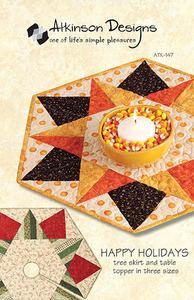 Atkinson Designs Happy Holidays Sewing Pattern