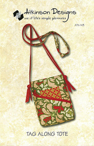 Atkinson Designs Tag Along Tote Sewing Pattern