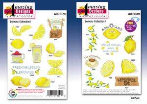 6064: Amazing Designs ADC1379 Lemons Collection 1 Embroidery CD