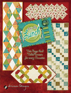 Atkinson Designs Let's Do Lunch:Tote Bags and Table Runners Sewing Book