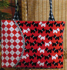 Tiger Lily Press Curved Pocket Cha Cha Bag Sewing Pattern