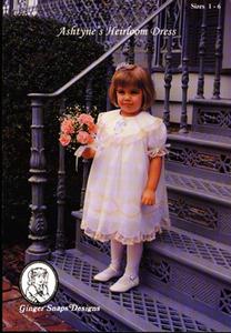 Ginger Snaps Designs Ashtyne's Heirloom Dress Sizes 6 -14