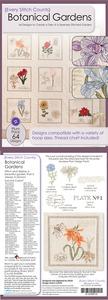 Every Stitch Counts E-CD2F12 Botanical Gardens Embroidery Design CD