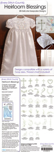 Every Stitch Counts -E-CD2A12  Heirloom Blessings Embroidery Design CD