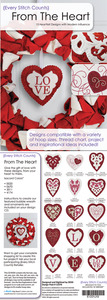 Every Stitch Counts - From the Heart Embroidery Design CD