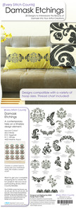 Every Stitch Counts - Damask Etchings Embroidery Design CD