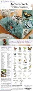 Every Stitch Counts - Nature Walk Embroidery Design CD