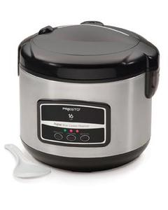 Presto 05813 16 Cup Digital S.S. Rice Cooker/Steamer