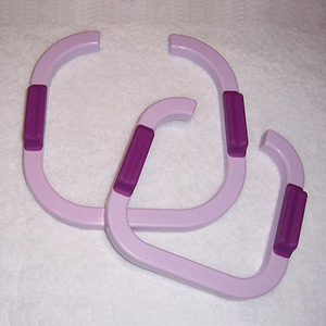 The Gypsy Quilter TGQ005 Fabulous Fabric Glide Free Motion Quilting Hoops, Positioner Handles, Gripper Rings, 2 Sizes