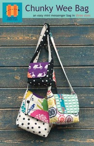 Hunter's Design Studio HDS013 Chunky Wee Bag Sewing Pattern