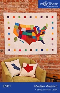 Indygo Junction Modern America Sewing Pattern