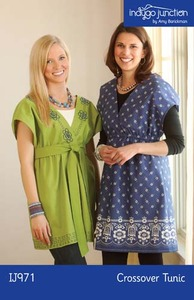 Indygo Junction IJ971 Crossover Tunic Sewing Pattern