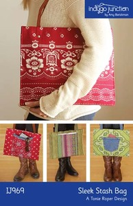 Indygo Junction Sleek Stash Bag Sewing Pattern