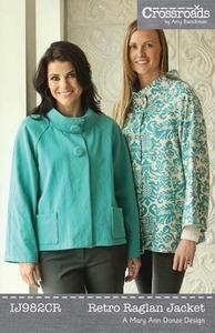 Indygo Junction Retro Raglan Jacket Sewing Pattern
