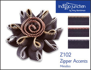 Indygo Junction Zipper Accents: Metallics Sewing Pattern