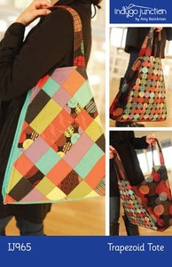 Indygo Junction IJ965 Trapezoid Tote Sewing Pattern