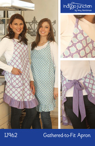 Indygo Junction The Gathered to Fit Apron Sewing Pattern