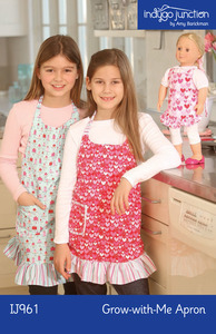 Indygo Junction Grow-with-Me Apron Sewing Pattern