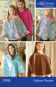 Indygo Junction Pullover Poncho Sewing Pattern