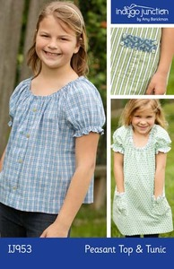 Indygo Junction Peasant Top and Tunic Sewing Pattern
